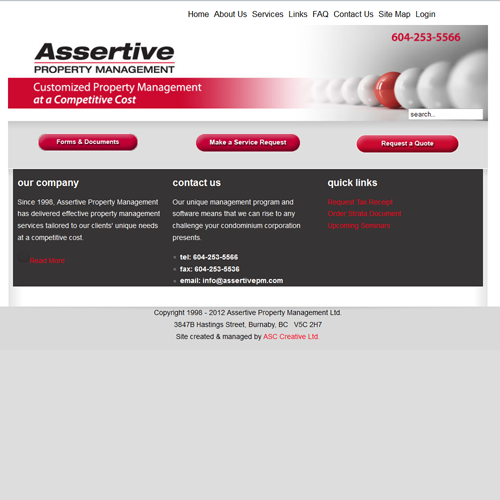 Assertive Property Management Services Inc